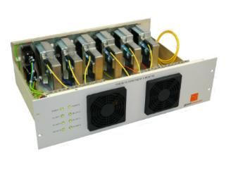 Fibre to L Band Converter Shelfs