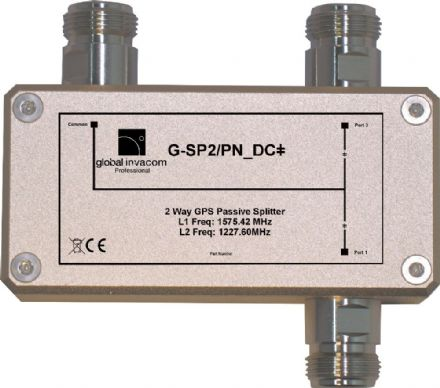 GPS 2 Way Passive Splitter