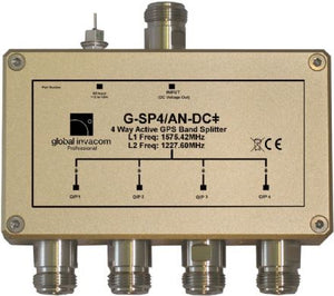 GPS 4 way active splitter