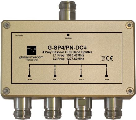 GPS 4 Way Passive Splitter