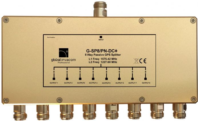 GPS 8 Way Passive Splitter
