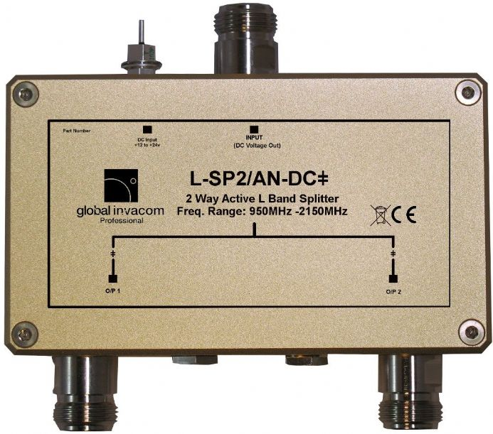 L Band 2 Way Active Splitter