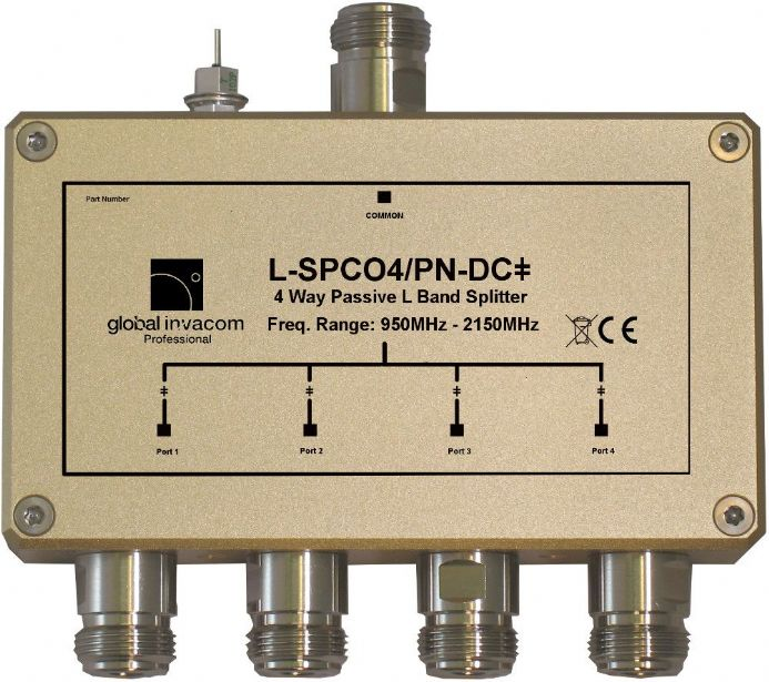 L Band 4 Way Passive Splitter/Combiner