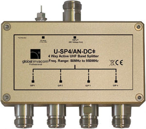 UHF 4 Way Active Splitter