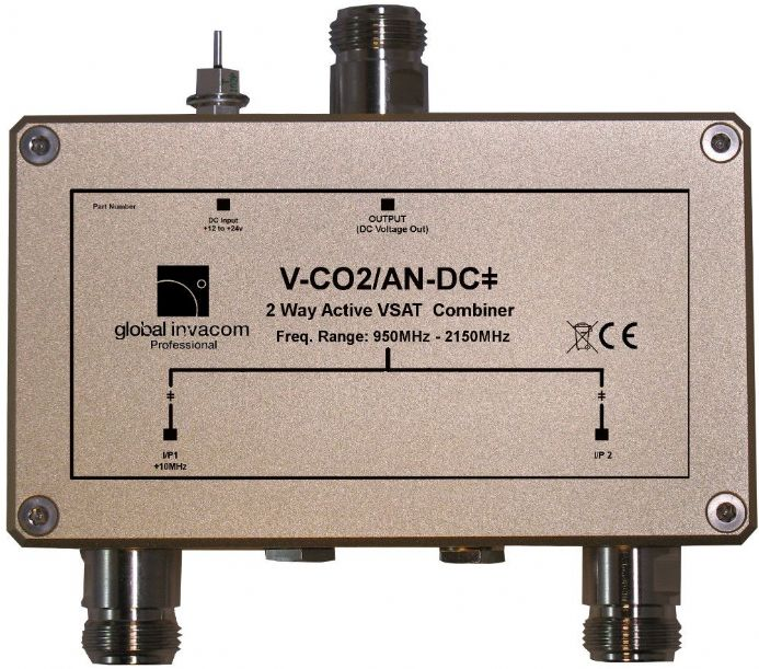 VSAT 2 Way Active Combiner