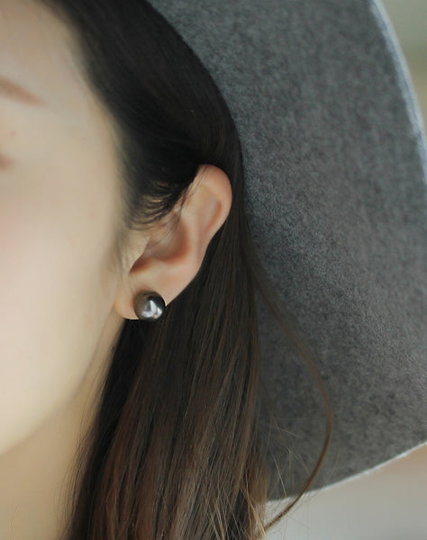 Black-Tahitian-Cultured-Pearls-Stud-Earrings-for-Women