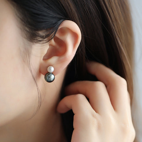 Black-Pearls-Tahitian-South-Sea-Cultured-Pearl-Stud-Earrings-for-Women