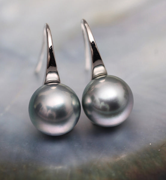White-Gold-Black-South-Sea-Cultured-Tahitian-Pearl-Hook-Earrings