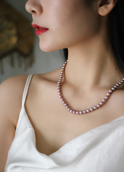 Flawless-Pink-Freshwater-Cultured-Pearl-Necklace-Strand