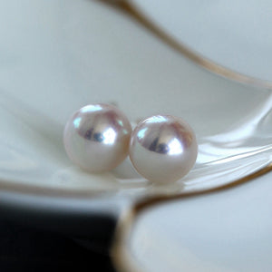 Japanese-Round-White-Akoya-Cultured-Pearl-Stud-Earrings-for-Women