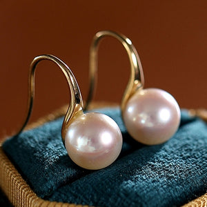 Round-White-Akoya-Cultured-Pearl-Dangle-Hook-Earrings