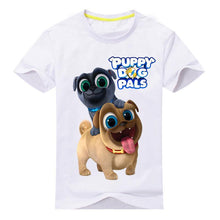 Load image into Gallery viewer, Summer Cartoon Puppy Dog Pals Print Tee Tops For Boy Girls - Beccaskulture