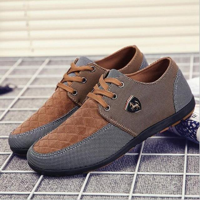 canvas shoes for men - Beccaskulture