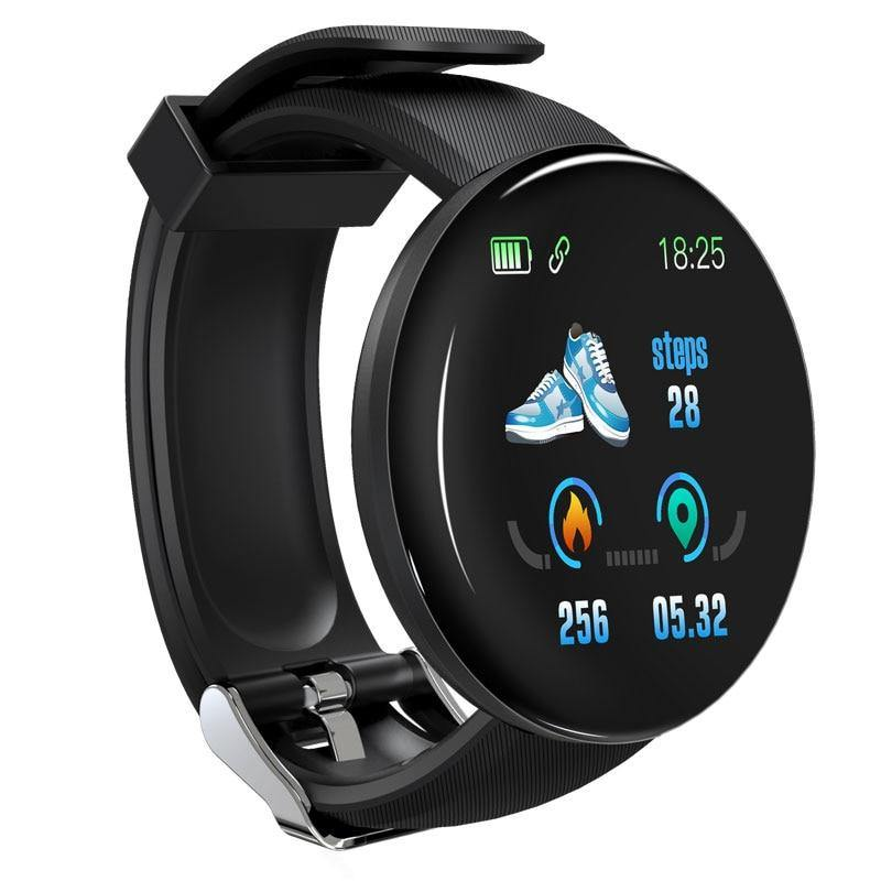 Bluetooth Smart Watch Men Blood Pressure Round Smartwatch - Beccaskulture