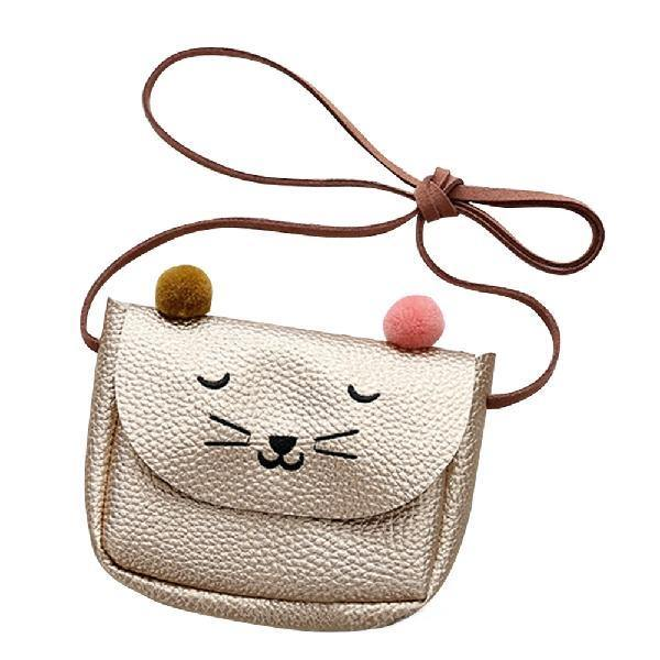 Banabanma Mini Cute Cat Ear Shoulder Bag Kids  Messenger Bag - Beccaskulture
