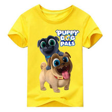 Charger l'image dans la galerie, Summer Cartoon Puppy Dog Pals Print Tee Tops For Boy Girls - Beccaskulture