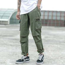 Load image into Gallery viewer, Men Jeans Casual Pants High Street Youth Style Jogger Pants - Beccaskulture