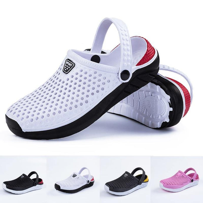Unisex Fashion Beach Sandals Thick Sole Slipper Waterproof Anti-Slip sandals - Beccaskulture