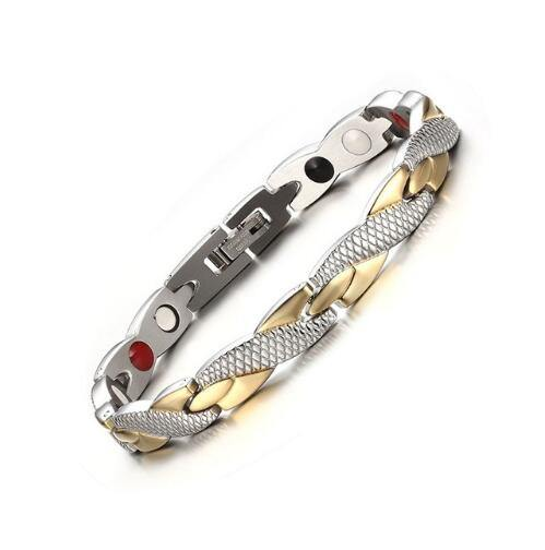 Vnox Twisted Magnetic Bracelet for Women Men - Beccaskulture