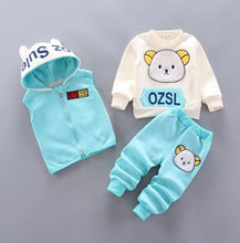 Load image into Gallery viewer, Newborn Baby Boys Girls Autumn Winter Warm Hoody Coat + Sweatshirt - Beccaskulture