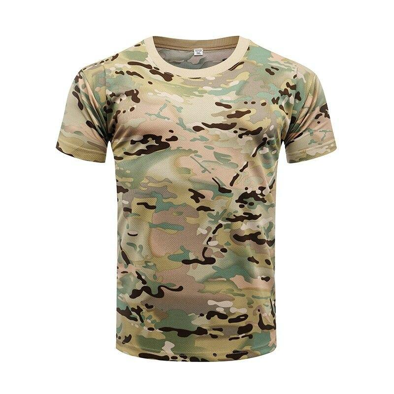 Camouflage Tactical Shirt Short Sleeve - Beccaskulture