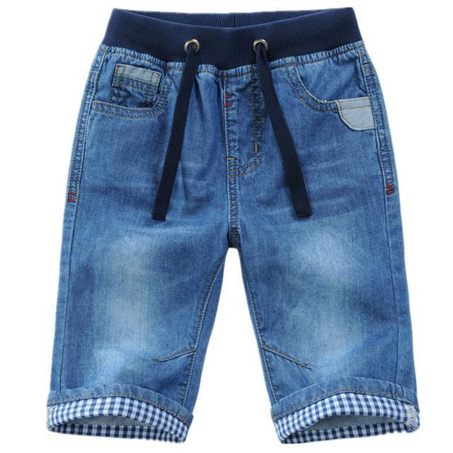 2 To 13Years Kids Boys Denim Shorts - Beccaskulture
