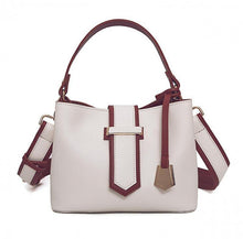 Load image into Gallery viewer,   Women Messenger Bas  The Mademoiselle Patchwork Hit Color  Shoulder Bag - Beccaskulture