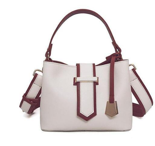 Women Messenger Bas  The Mademoiselle Patchwork Hit Color  Shoulder Bag - Beccaskulture