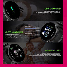 Load image into Gallery viewer, Bluetooth Smart Watch Men Blood Pressure Round Smartwatch - Beccaskulture