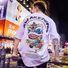 Load image into Gallery viewer, Special Tide brand short-sleeved men summer street hip hop - Beccaskulture