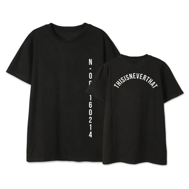 LettBao BTS Kpop Tshirt SAVE ME Fashion T-shirt Women and Men - Beccaskulture