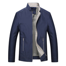 Load image into Gallery viewer, Leisure business men jacket zipper coat - Beccaskulture