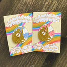 Songs About Rainbows enamel pin