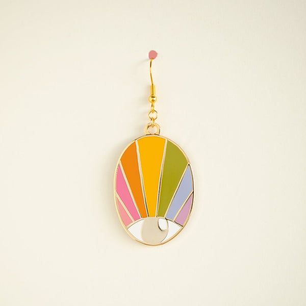 SINGLE Spectrum Eye Earring - Pastel Magic Large