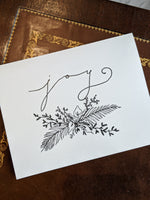 Joy | Holiday Greeting Card | Pack of 3