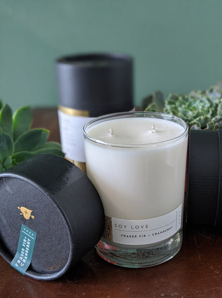 Soy Love Luxury Candle | Natural Soy with Fine Fragrance