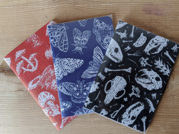 Hand Screen Printed Notebook
