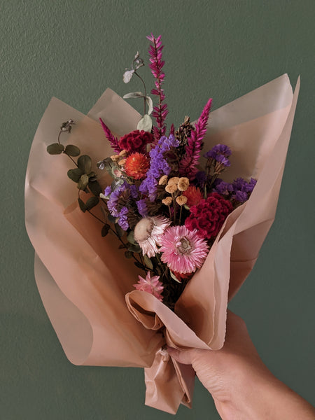 Chrysm | Dried Local Flower Bouquet | Small