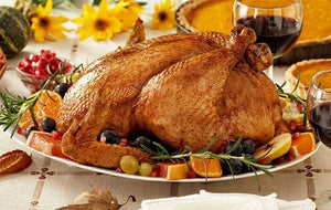 Fresh Free-Range All-Natural Turkey (uncooked)
