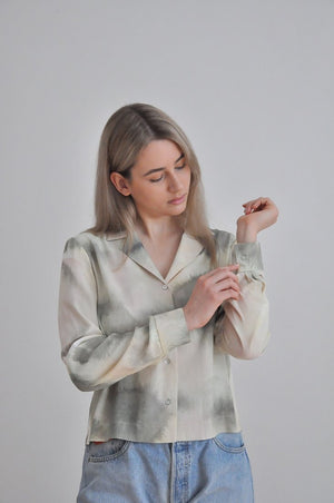 LAST ONE / Hebe shirt - Upcycled & made to measure
