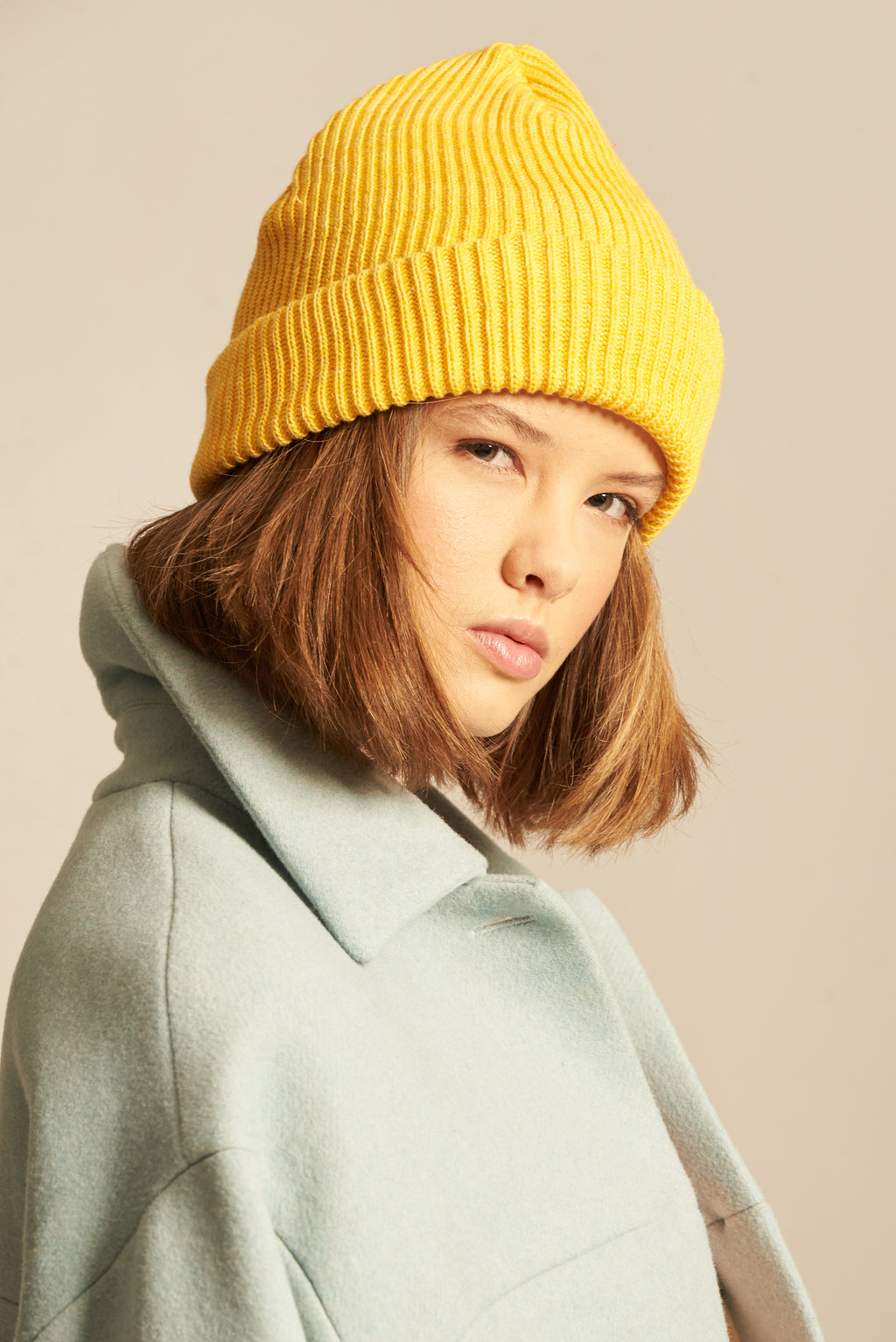 Alice - yellow hat, scarf or set