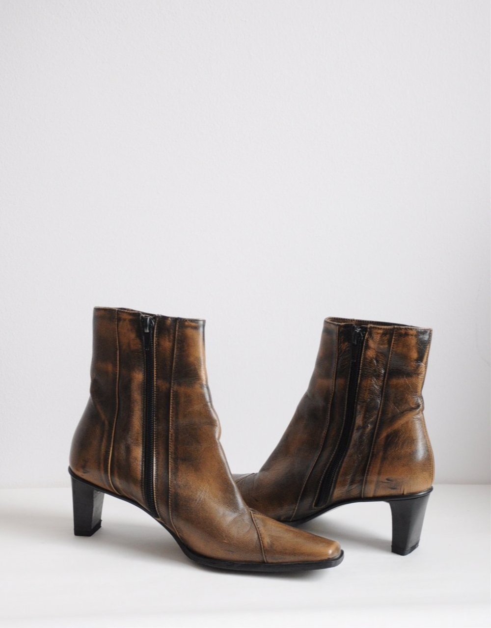 Leather boots / EU 36