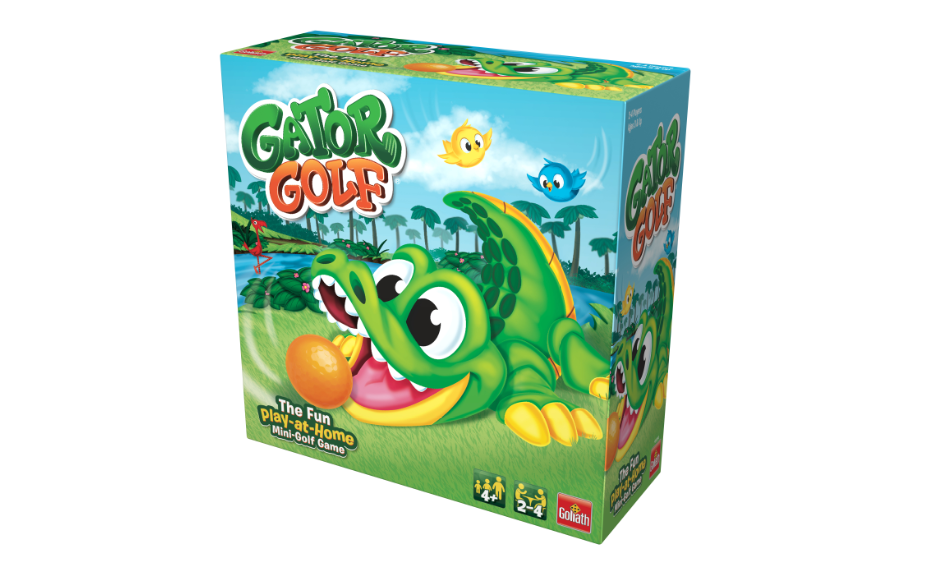 Gator Golf - Putt The Ball into The Gator's Mouth to Score Game