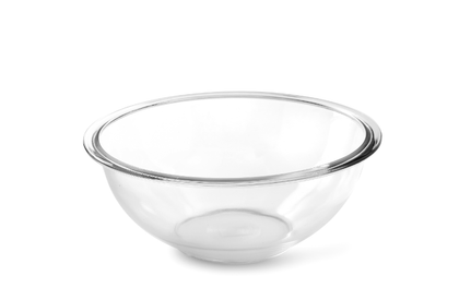 Royalford RF2705-GBD Glass Mixing Bowl, 0.8L | Glass Bowl, Oven Safe Mixing Bowl Set, Glass Baking Accessory, Small Serving/Mixing Bowl