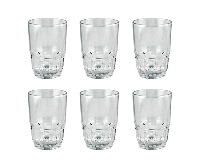 Royalford RF1096-GT6 Glass Tumbler Set, 6 Pcs