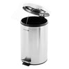 Royalford RF5128 Stainless Steel Pedal Bin, 20L | Fingerprint Proof, Rust Resistant, Odor Free & Hygienic – Stainless Steel Handle, Strong Plastic Bucket Inner, Soft Close Lid and Plastic Base