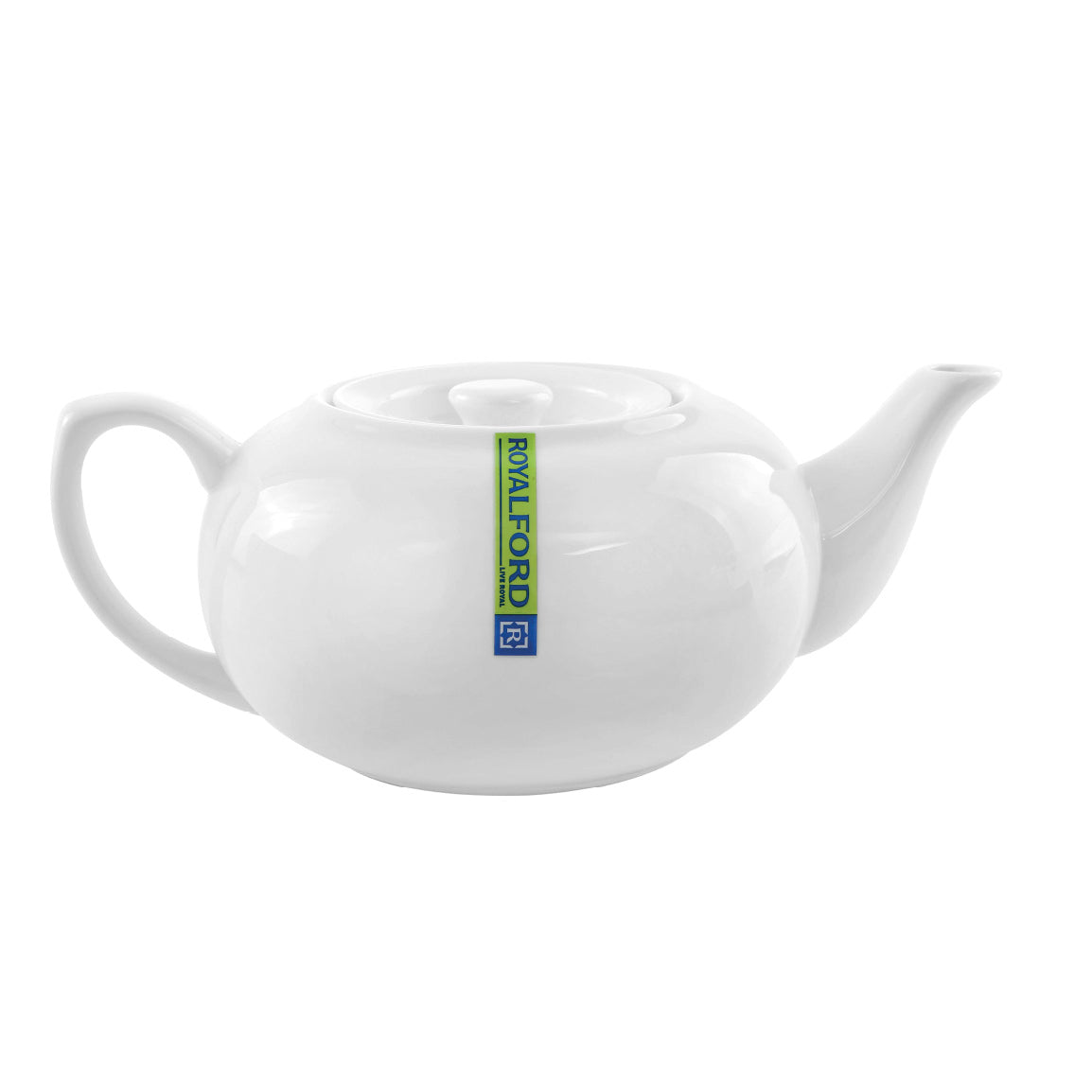 Royalford RF8016 Porcelain Magnesia Small Tea Pot with Lid