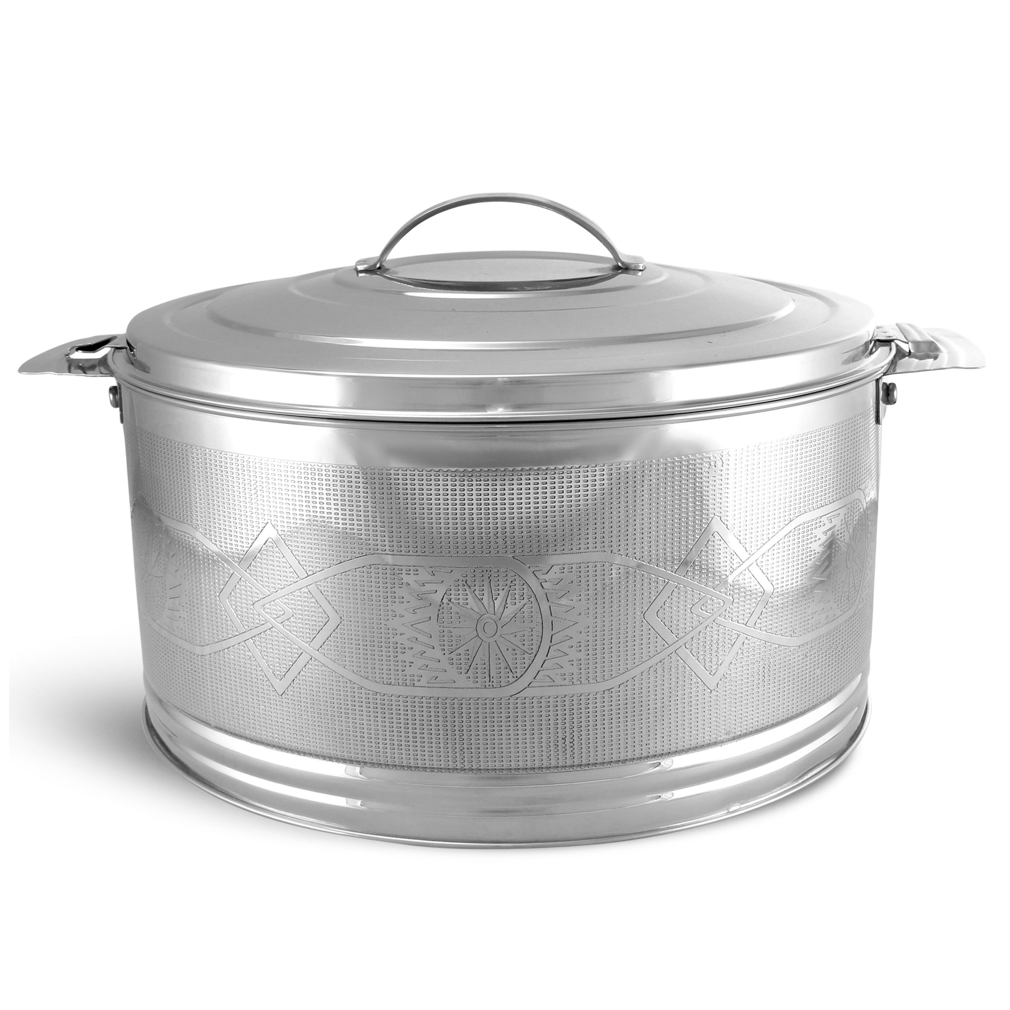 Royalford RF7482 Elite Silverline Stainless Steel Hot Pot, 6L