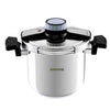 Royalford RF7605 Stainless Steel Pressure Cooker, 7L