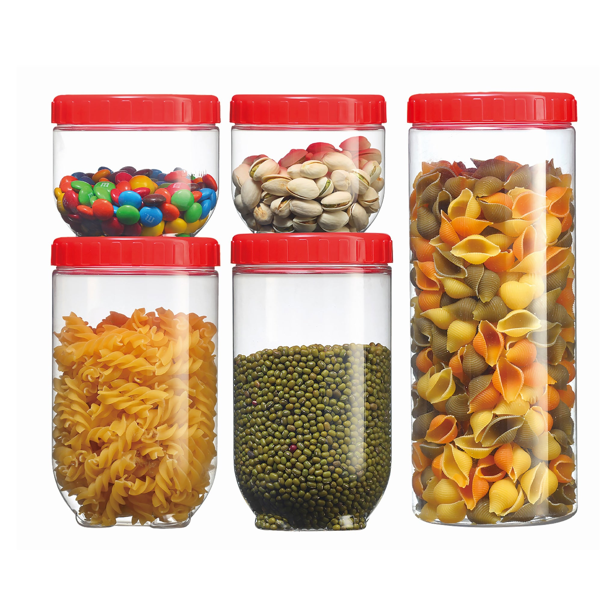 Royalford RF8635 Link-Up Space Jar Set, 5pieces
